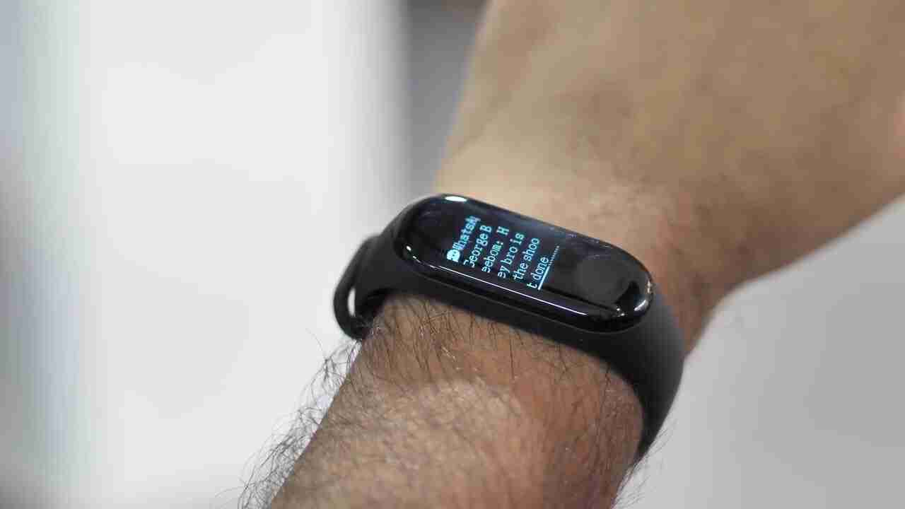 Notifications Xiaomi Mi Band 3