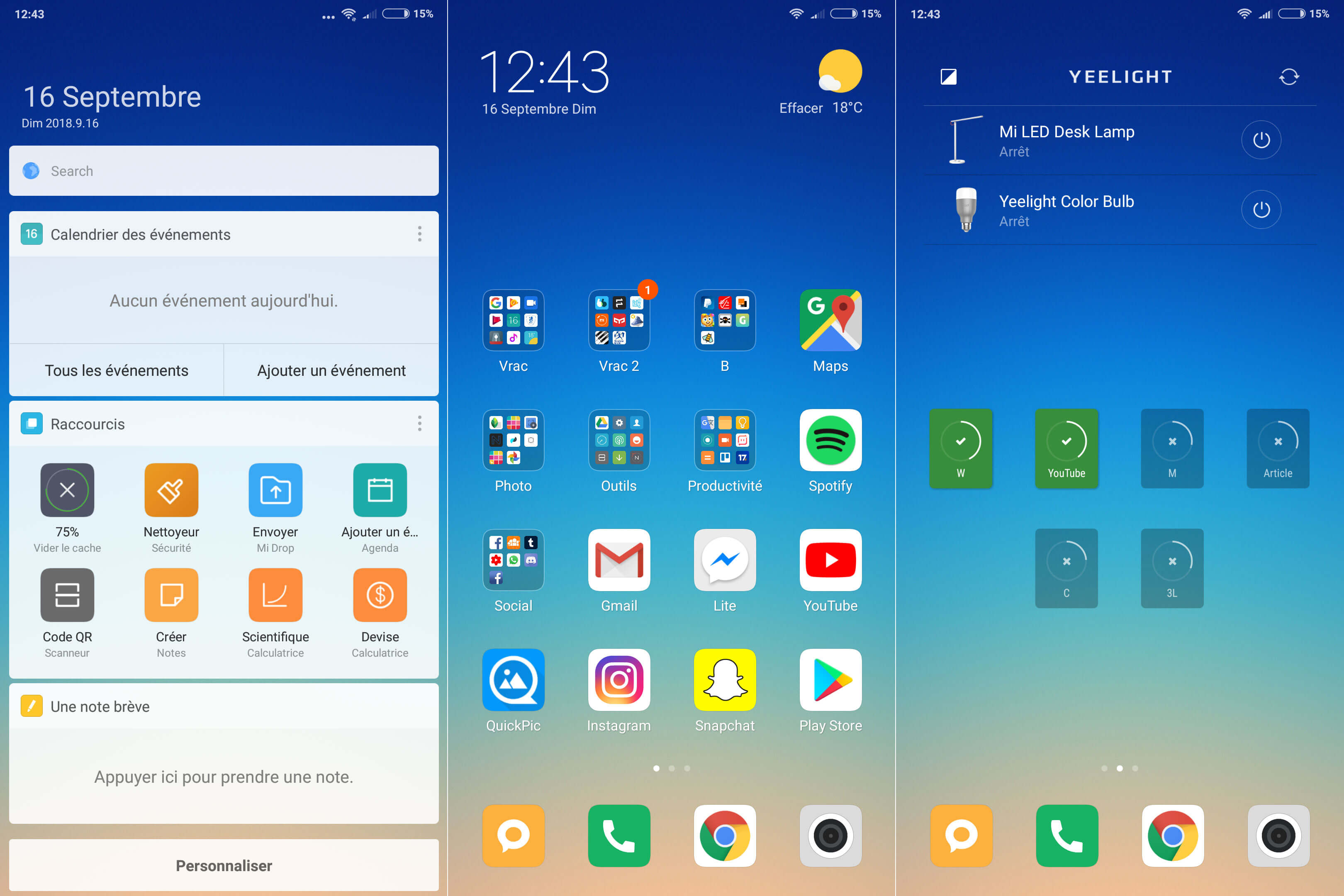 MIUI 9 Redmi 5 Plus